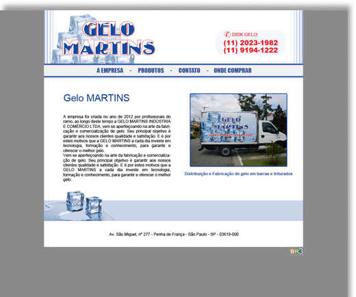 Site - Gelo Martins