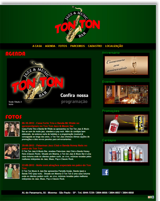 Site - Tonton Jazz