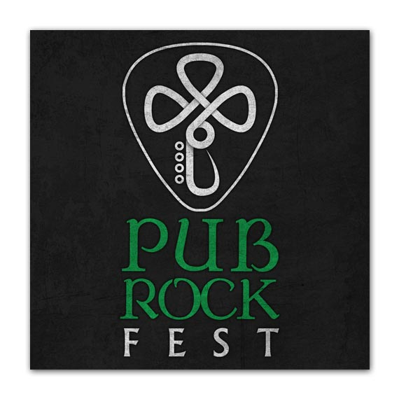 Logotipo - Pub Rock Fest