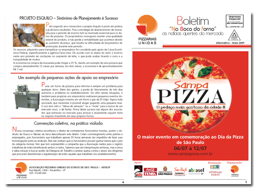 Informativo Sampa Pizza
