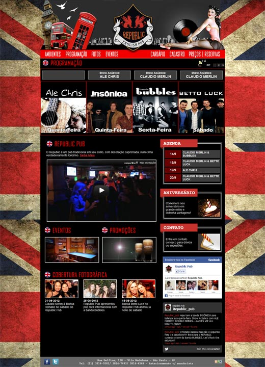 Novo Site Republic Pub