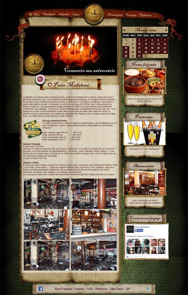 Site Bar Porto madalena 2015