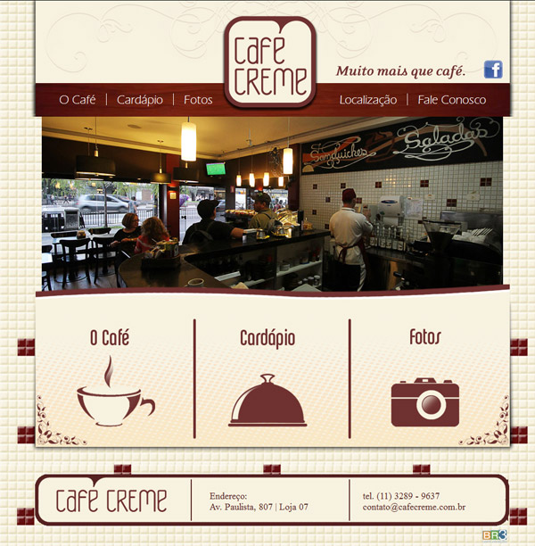 Site Café Creme Br3 Site sites cases image