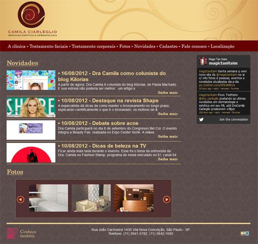 Site Camila Ciarleglio