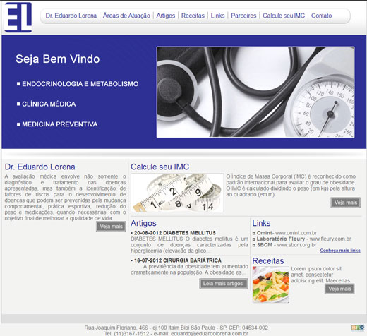 Site - Dr. Eduardo Lorena Br3 Site sites cases image