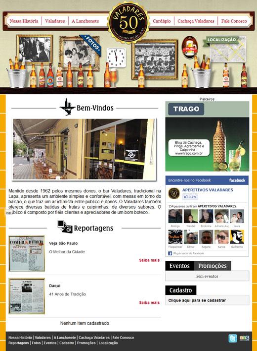 Site - Bar Valadares