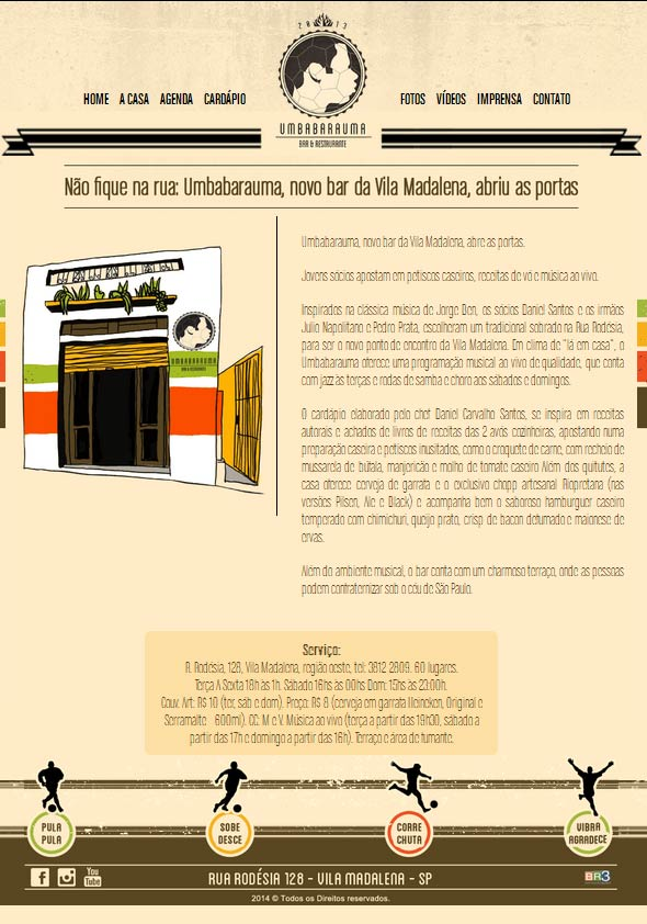 Site Umbabarauma