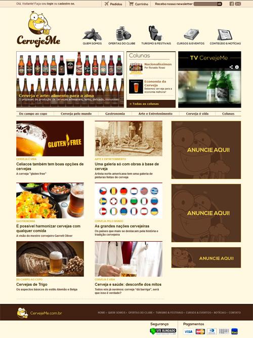 Portal CervejeMe