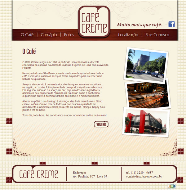 Site Café Creme