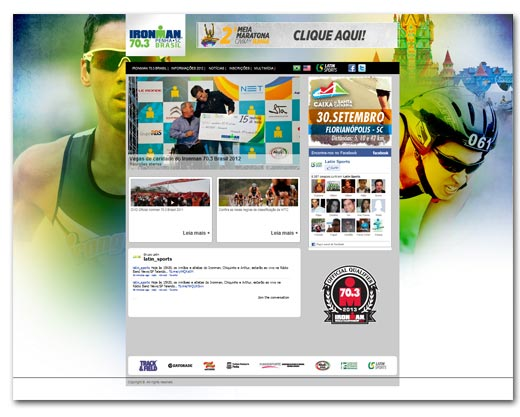 Projeto Latin Sports Br3 Site sites cases image