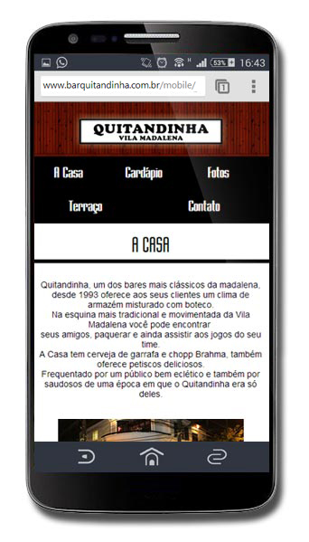 Site Mobile Bar Quitandinha Br3 Site sites cases image