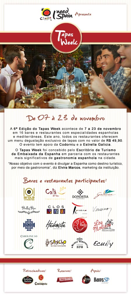 E-Mail Marketing - Tapas Week