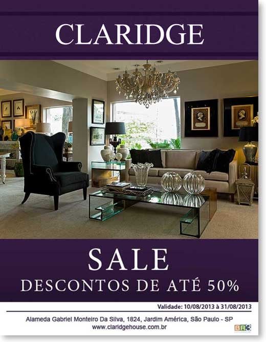 Email Marketing Claridge House Br3 Site sites cases image