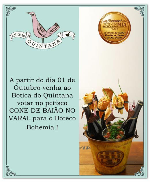 E-mail marketing Botica do Quintana