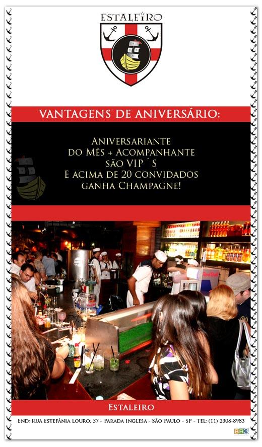 E-mail marketing de Aniversário Estaleiro Br3 Site sites cases image