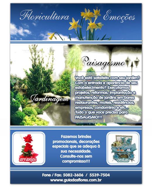 Email Marketing da Floricultura Emoções
