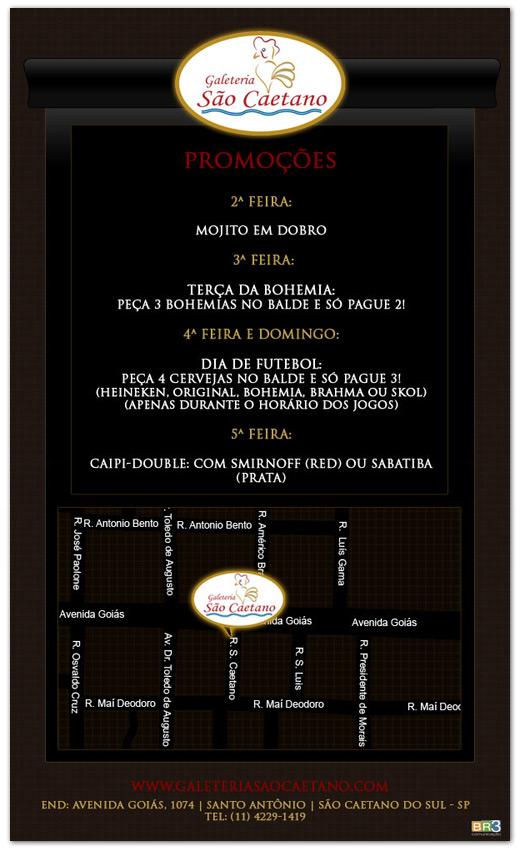 E-mail marketing Galeteria São Caetano