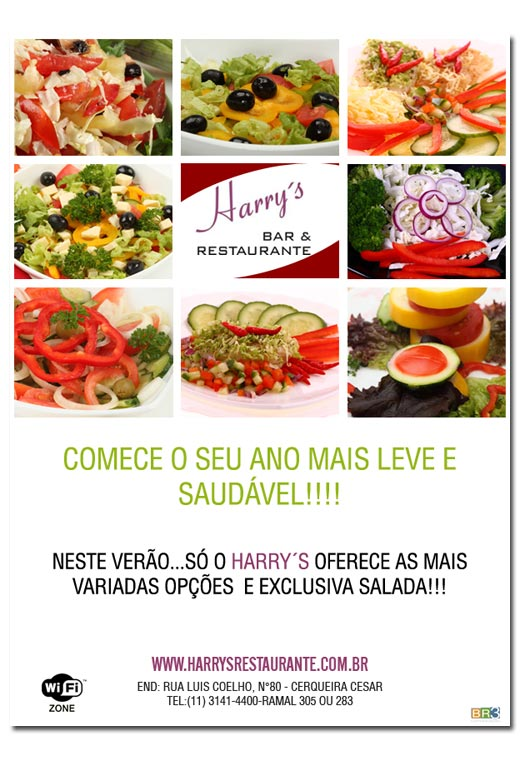 Email Marketing Harrys Restaurante