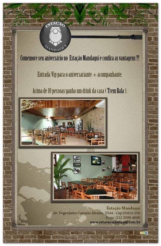 E-mail marketing de aniversário - Estação Mandaqui Br3 Site sites cases image