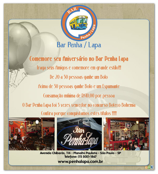 E-mail Marketing Bar Penha-Lapa