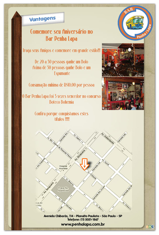 E-mail Marketing Bar Penha-Lapa
