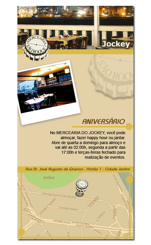 Email Marketing Mercearia São Roque