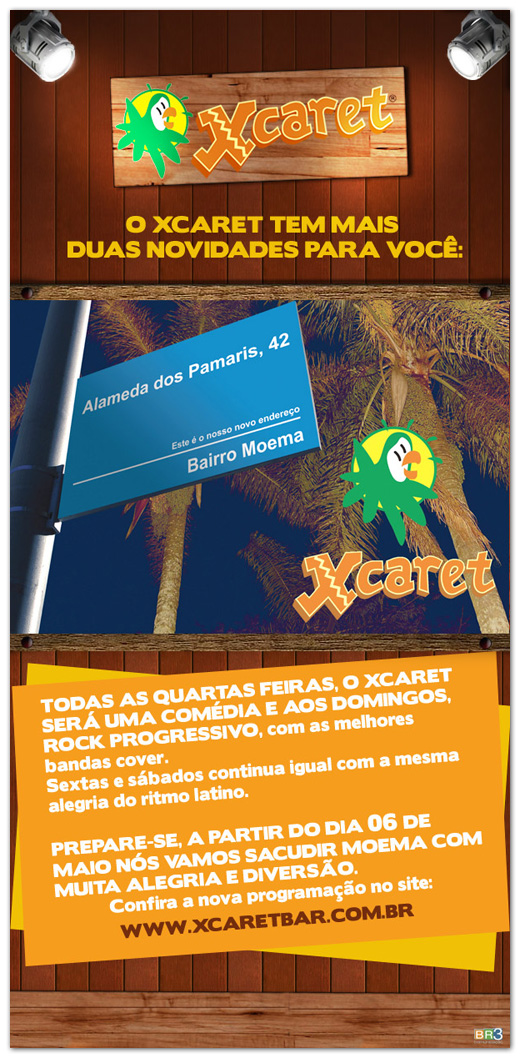 E-mail Marketing Xcaret bar