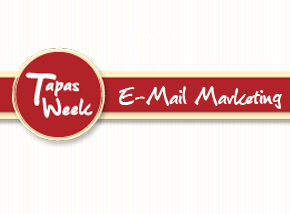 E-Mail Marketing - Tapas Week Br3 Site sites cases image
