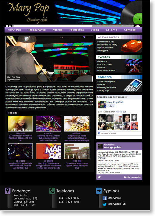 Site - Mary Pop