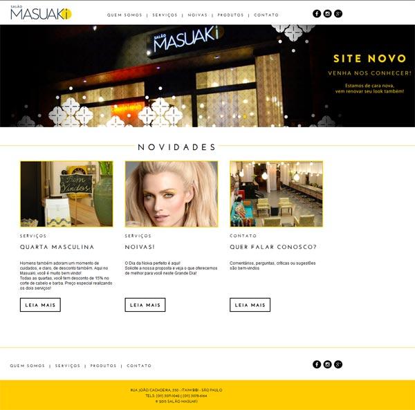 Novo Site Masuaki