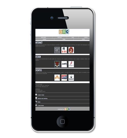 Site Mobile BR3