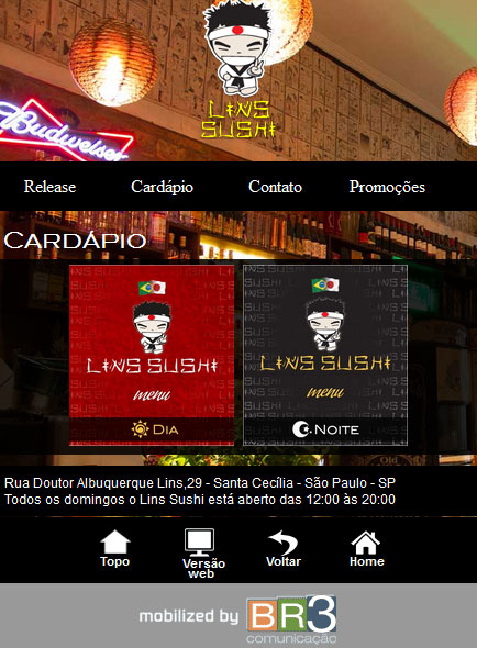 Mobile Lins Sushi