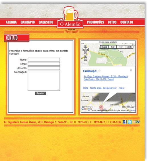 Site - O Alemão