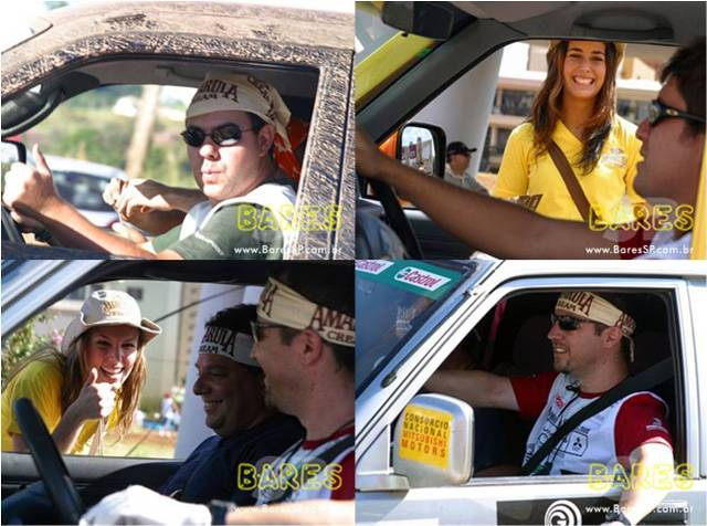Ação Amarula no Rally Mitsubishi