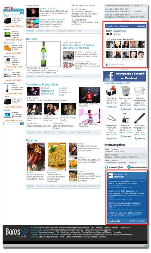 Redes Sociais BaresSP Br3 Site sites cases image