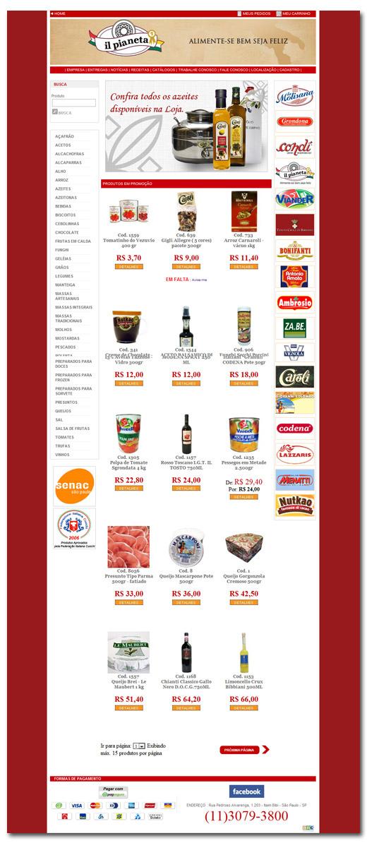 E- Commerce iL Pianeta
