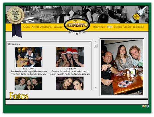 Novo Site Bar do Arnesto.