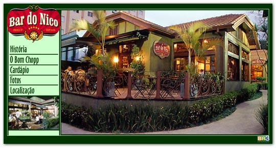 Hot Site do Bar do Nico