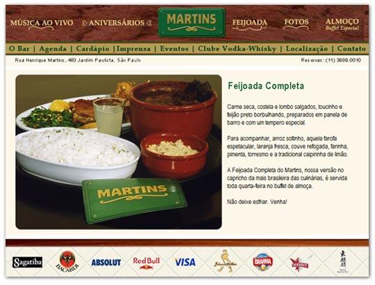 Site Bar Martins