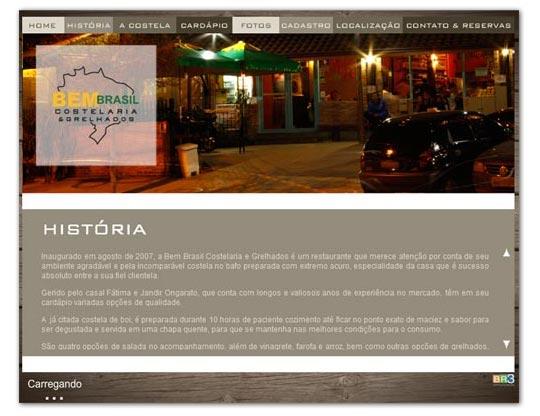 Site Bem Brasil Costelaria