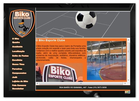 Site Biko Esporte Clube Br3 Site sites cases image