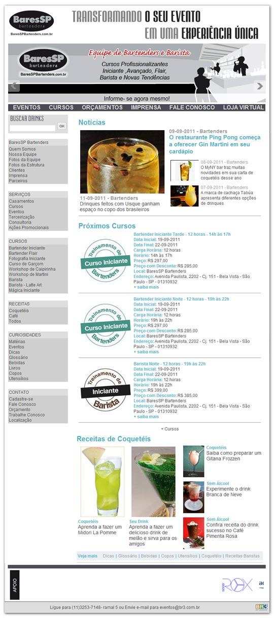 Site BaresSP Bartenders