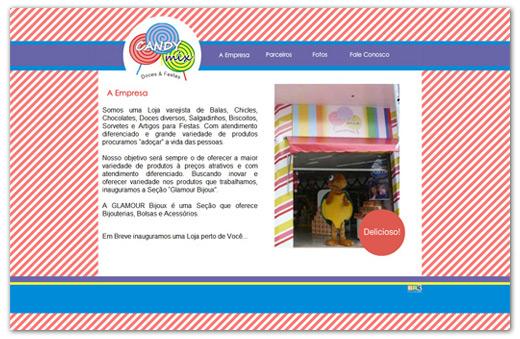 Site Gomar Comércio de Alimentos Ltda