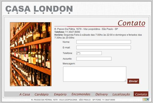 Site Casa London