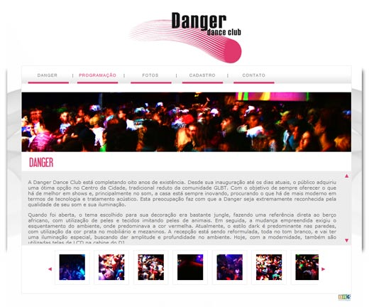 Site Danger Dance Club