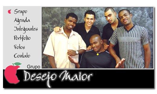 Site Grupo Desejo Maior