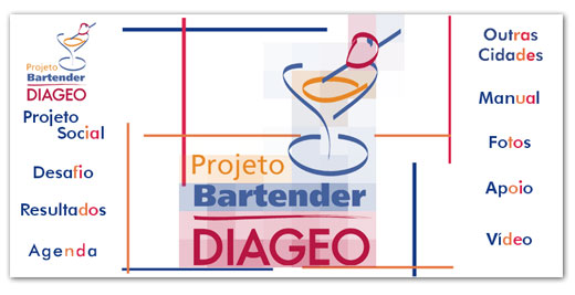 Hot Site Projeto Bartender Diageo