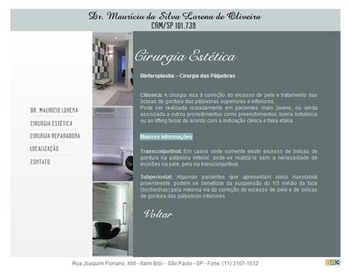 Site Dr. Maurício Lorena
