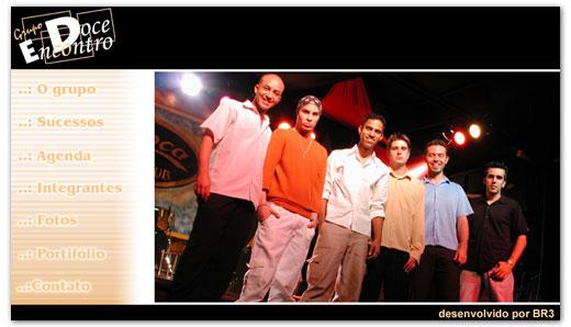 Site do Grupo Doce Encontro