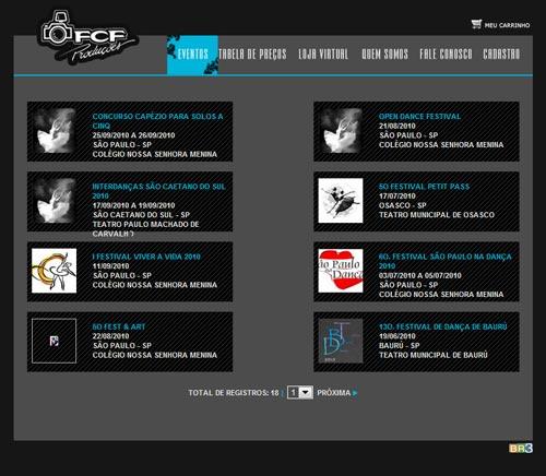 Site FCF - Fábio Capretz Fotos